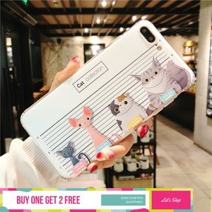 Accessories - Cat Collections Soft TPU Shockproof Phone Case